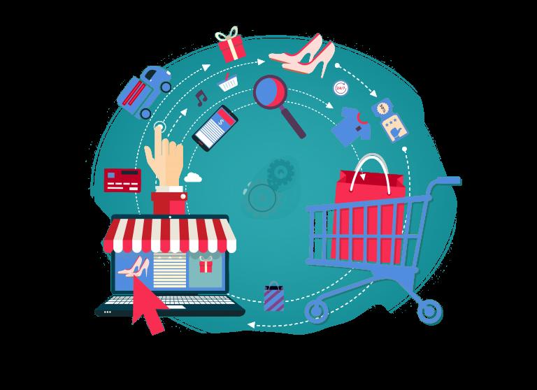 online shop elements